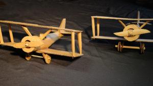 Charley Cardboard Biplane
